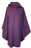 James Wool Cashmere Cape Lilac