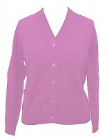 Westaway - Ladies lambswool v neck cardigan