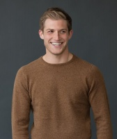 William Lockie Rob Mens Lambswool Round Neck Pullover