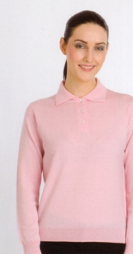 Peter Scott - Ladies merino polo shirt