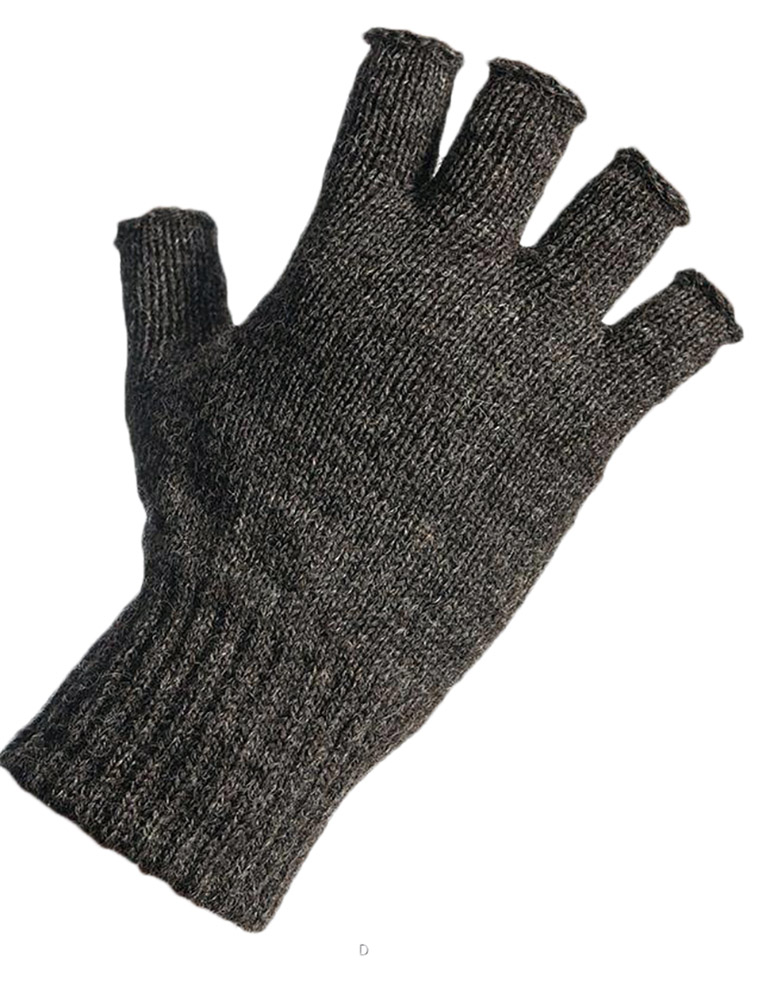 Black Sheep - Fingerless gloves