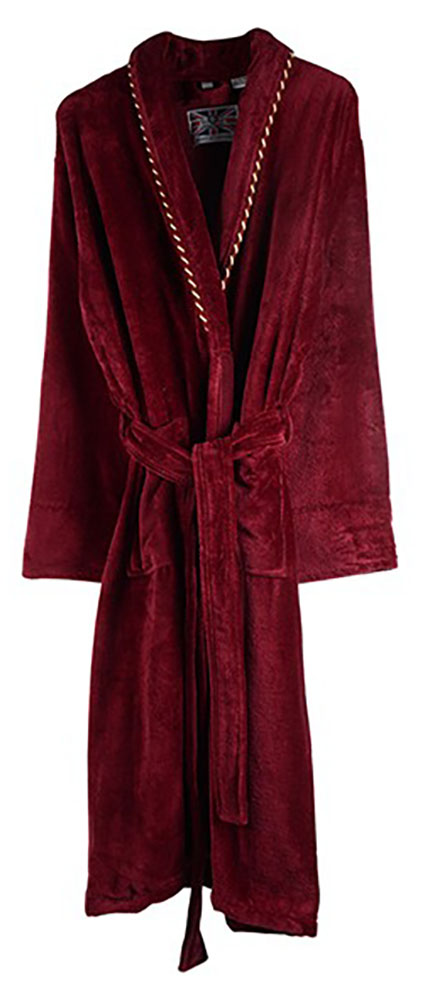Bown - Earl velour dressing gown