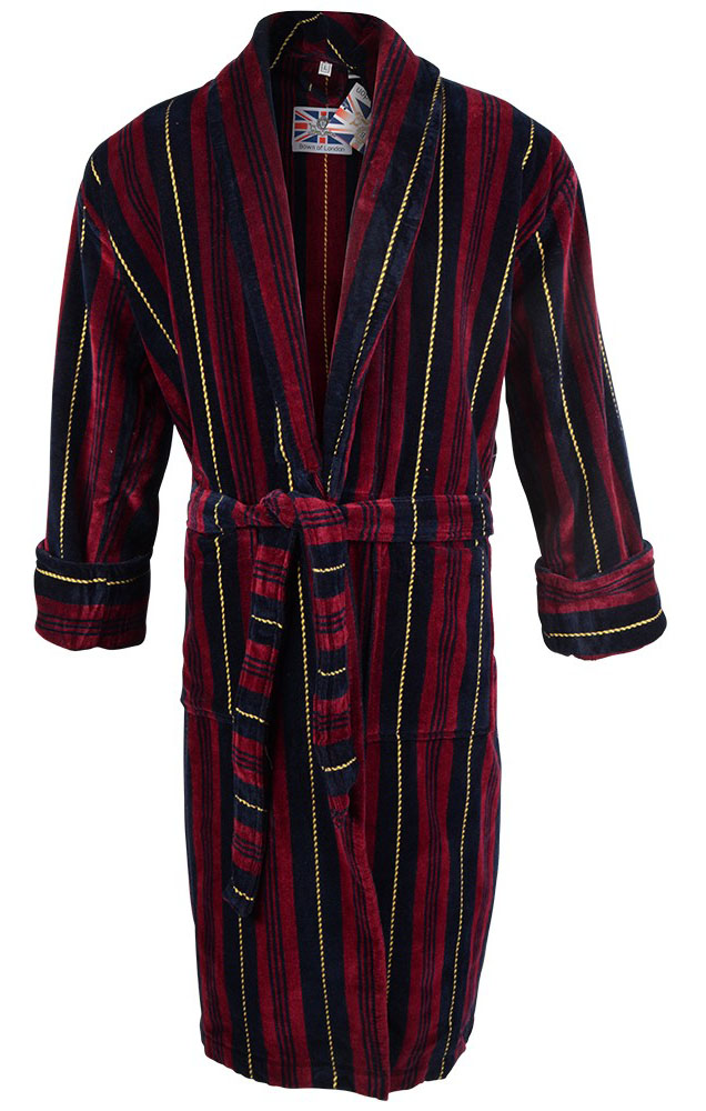 Bown - Marchand velour dressing gown
