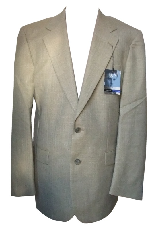 Brook Taverner Ventura Jacket pale green herringbone