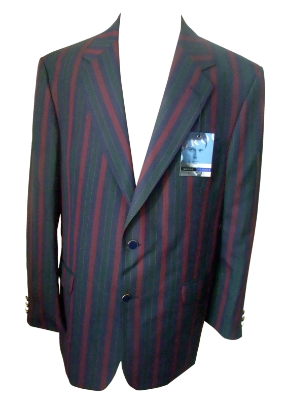 Brook Taverner Morgan Blazer Wine Navy Bottle