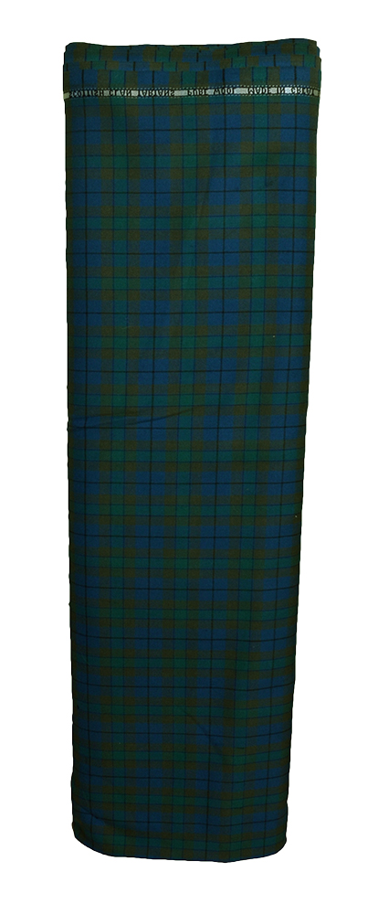 Muted Blue Muted Green Tartan Cloth