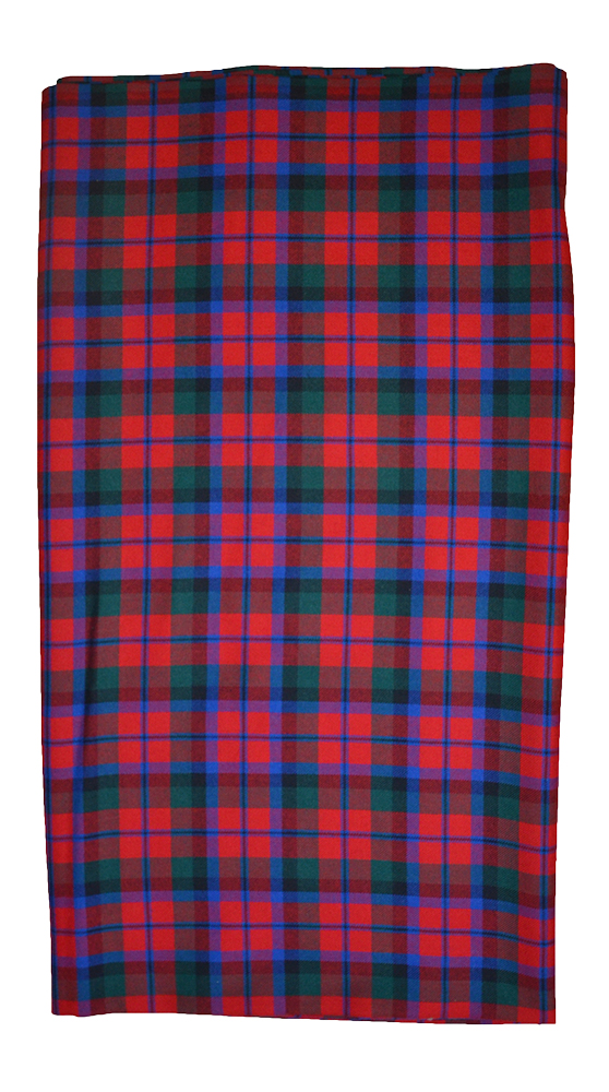 Red Green tartan cloth