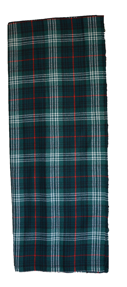 Scotch House tartan cloth sample