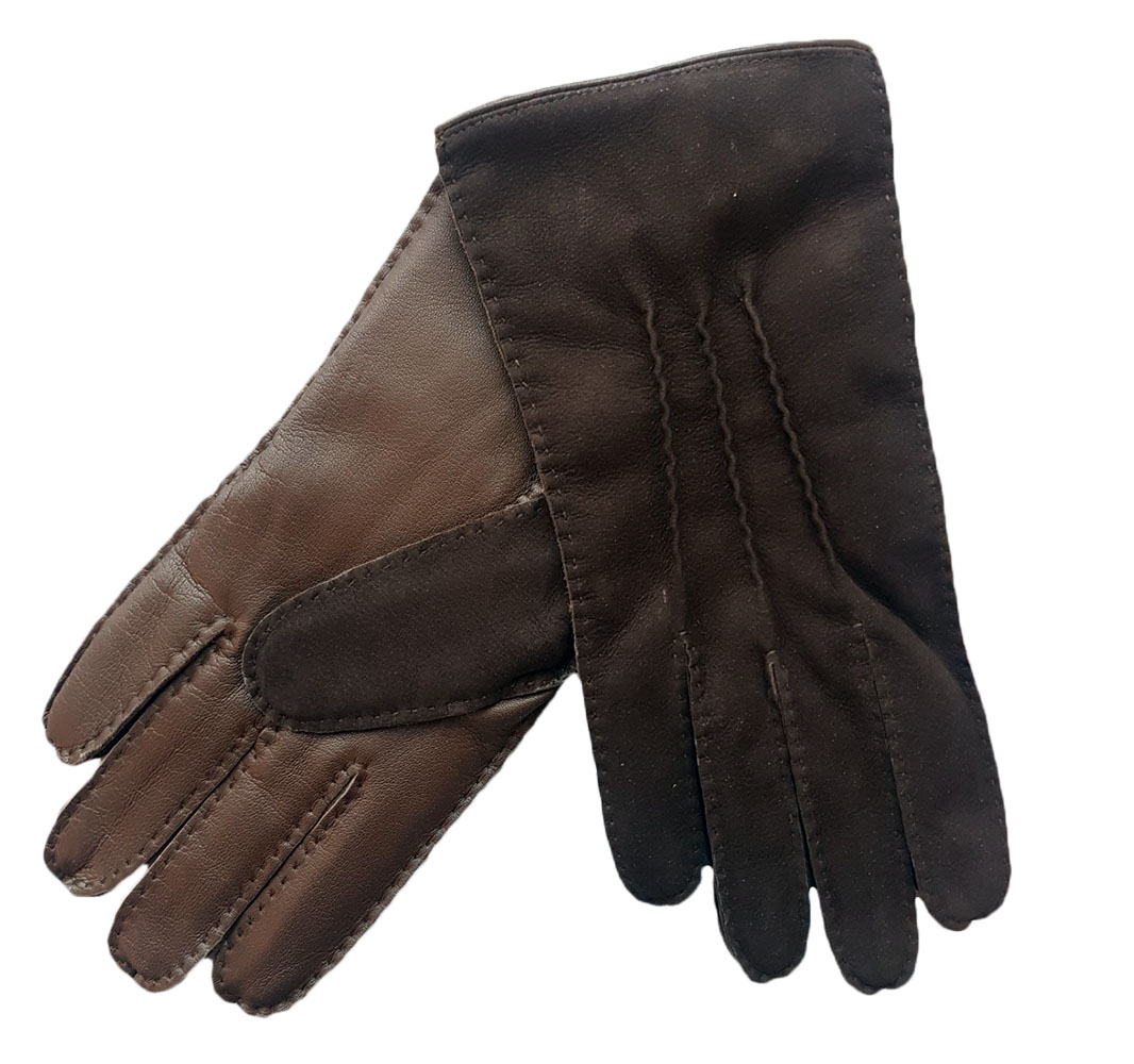 Dents Mulgrave Men's Hairsheep and Nubuck Leather Gloves