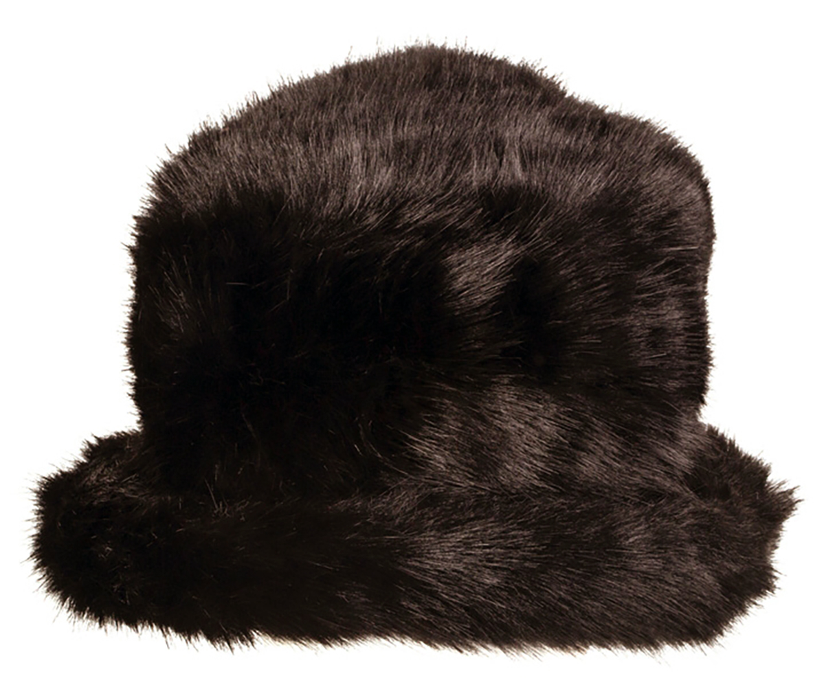 Dents - Faux Fur Hat with Elasticated Detail