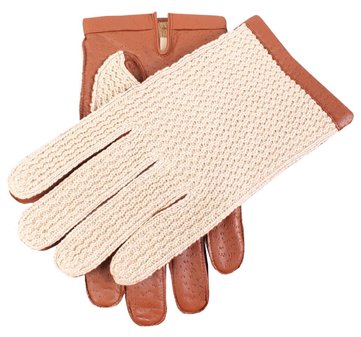Dents - Cotswold Cotton crochet back driving gloves
