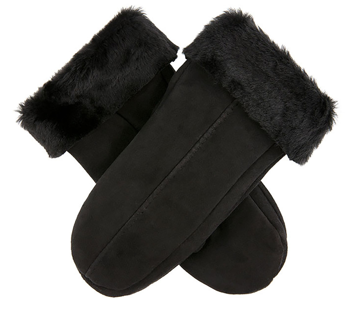 Dents - Alice Women's Suede Mittens