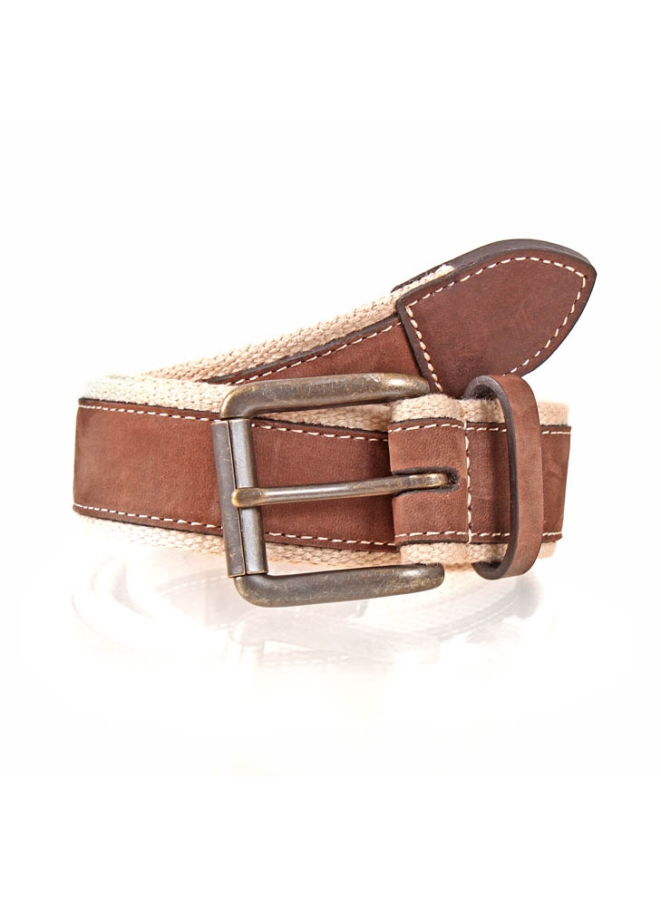 Dents - Webbing and leather belt