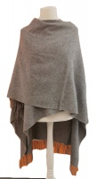 Hilltop - Lambswool Plain Cape