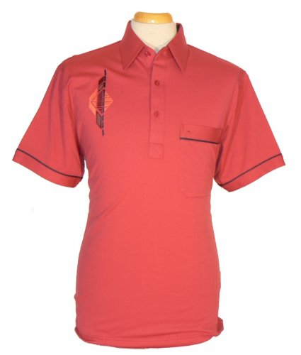 Gabicci - Polo shirt with embroidered pattern