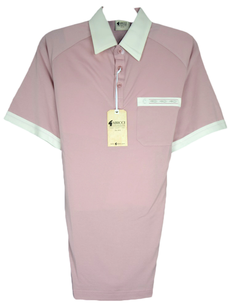 Gabicci - Polo shirt with contrast collar and sleeve ends