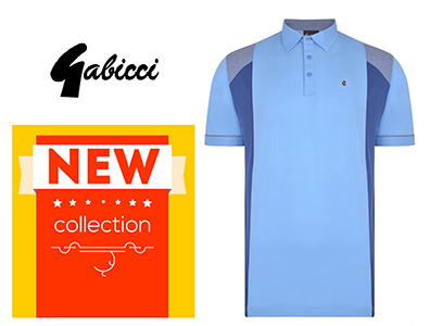 Gabicci polo shirts - new collection