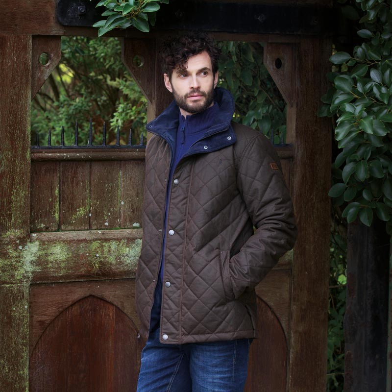 Jack Murphy - Dara Quilted Waxed Jacket