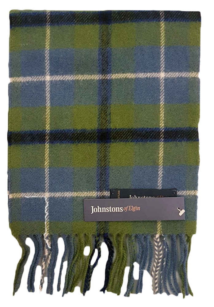 Johnstons  lambswool childs tartan scarf