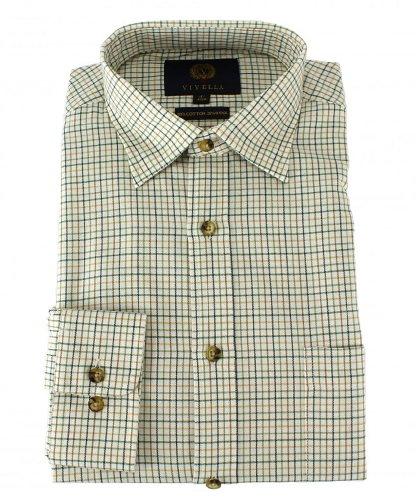 Viyella - Mini tattersall check shirt