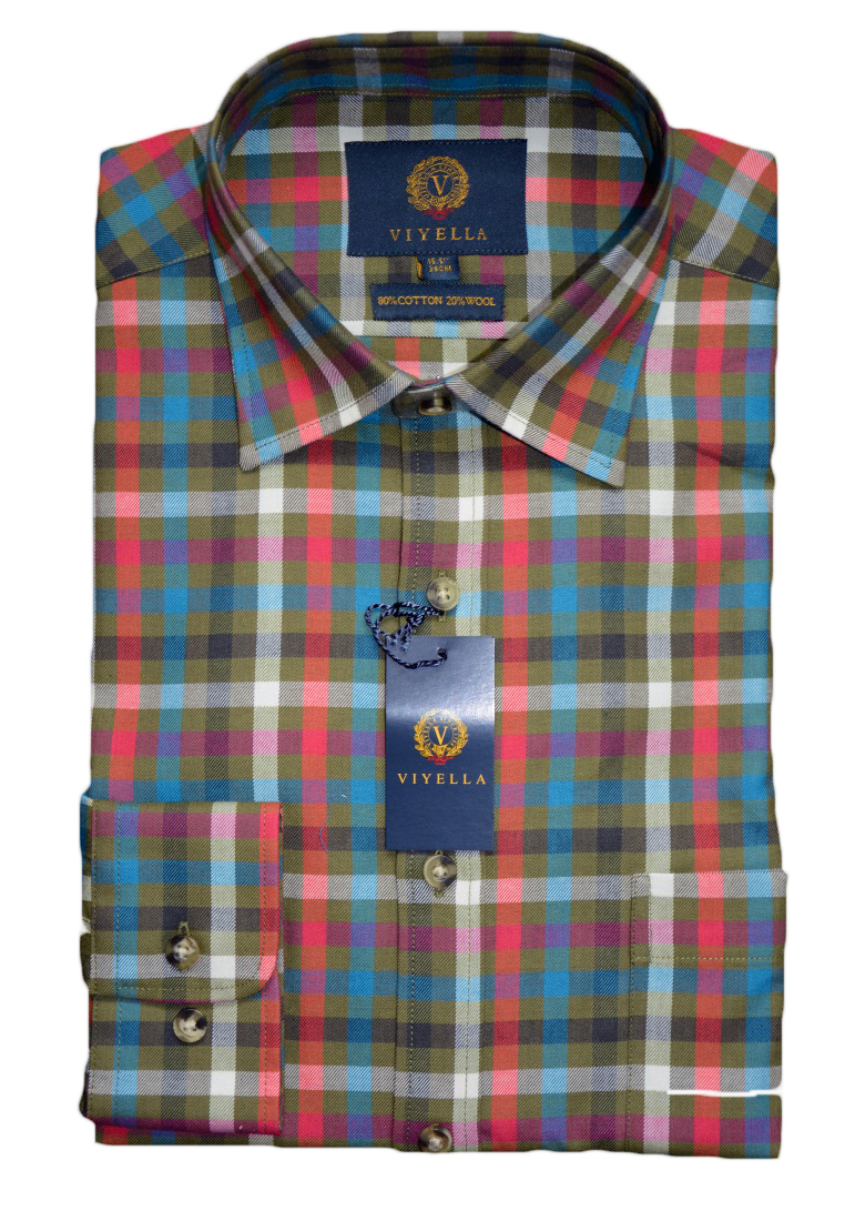 Viyella - Brunswick country check shirt