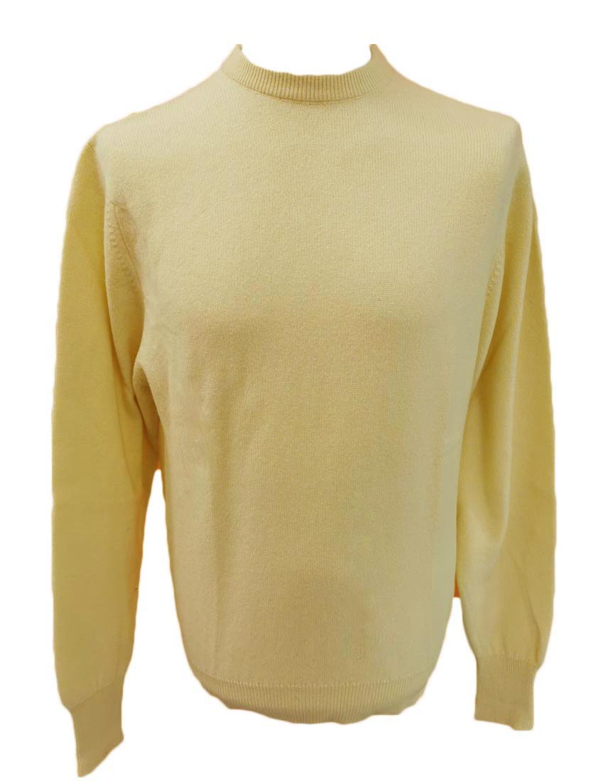 Westaway - 2ply cashmere crew neck pullover fully fashioned shoulder