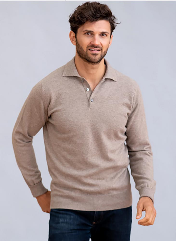 William Lockie - Oxton 1ply cashmere sportshirt