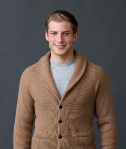 William Lockie Mens Camelhair Knitwear