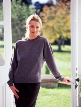 Westaway - Ladies lambswool round neck