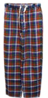 Viyella - Navy and red check pyjamas